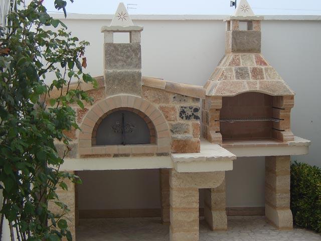 Forno1 stufe e camini catania stufe e camini pedara - Forno per pizza da giardino ...
