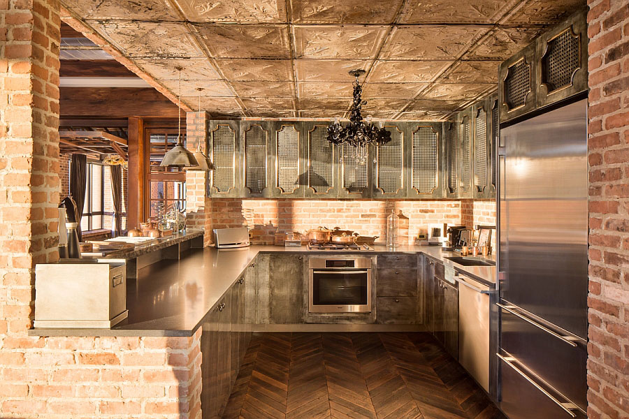 Cucine Murature. Cucina Finta Muratura With Cucine Murature ...