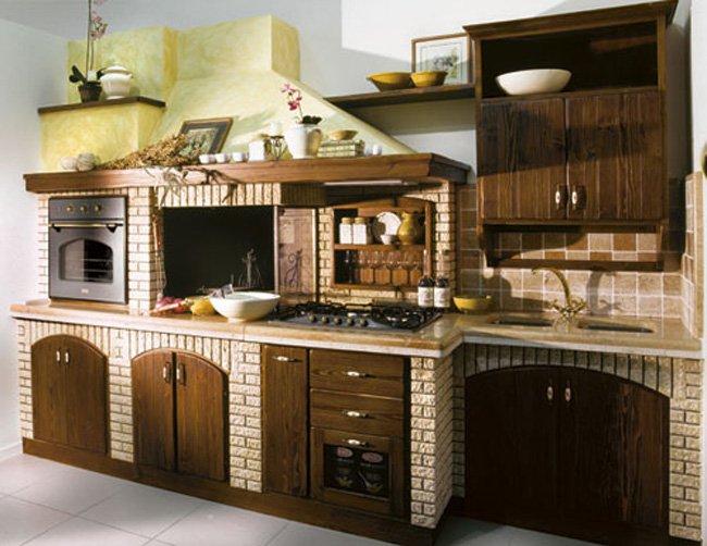 cucina-modello-taverna - Stufe e camini Catania, Stufe e Camini ...
