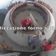 Realizzazione forno a pietra alimentato a pellet